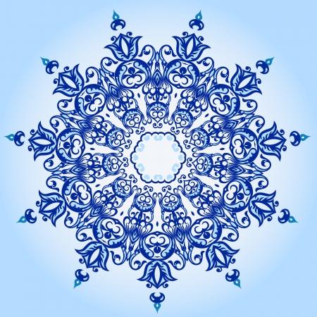 Vector of traditional Persian-Arabic-Turkish-Islamic Pattern Stock Vector - 19115547