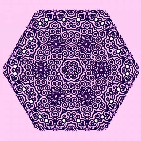 Vecteur de motif persan-arabe islamo-turque traditionnelle Vecteurs