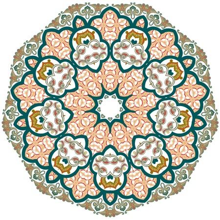 affluence: Vector de patr�n persa-�rabe-turco-isl�mica tradicional Vectores