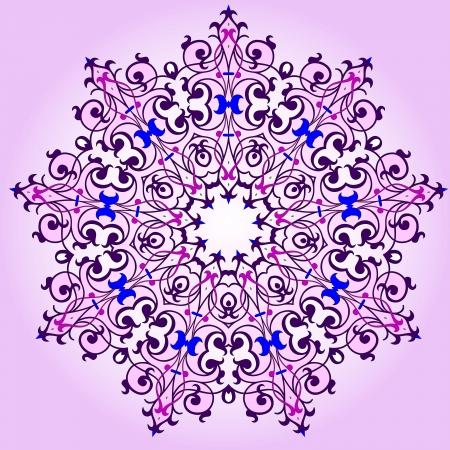 Vector of traditional Persian-Arabic-Turkish-Islamic Pattern Stock Vector - 19115551