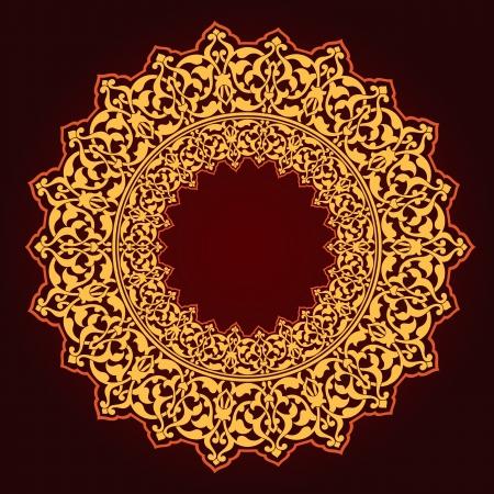 Vector of traditional Persian-Arabic-Turkish-Islamic Pattern Stock Vector - 19115549