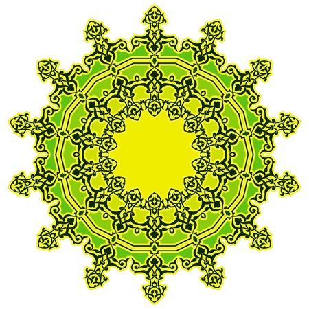 Vector of traditional Persian-Arabic-Turkish-Islamic Pattern Stock Vector - 19115548
