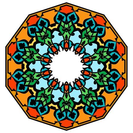 Vector of traditional Persian-Arabic-Turkish-Islamic Pattern Stock Vector - 19115543