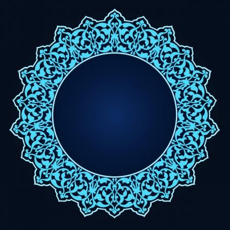 Vector of traditional Persian-Arabic-Turkish-Islamic Pattern Stock Vector - 19115560