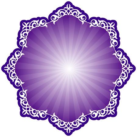 Motif persan islamique traditionnelle