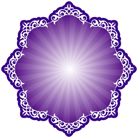 Patrón tradicional persa islámica
