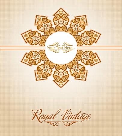 Traditional Persian-Islamic Pattern Stock Vector - 19135889
