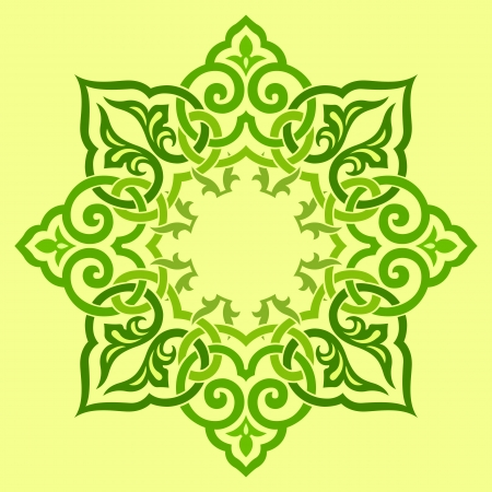 iran mosaic:  traditional Persian-Arabic-Turkish-Islamic Pattern