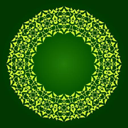 traditional Persian-Arabic-Turkish-Islamic Pattern Stock Vector - 19135868