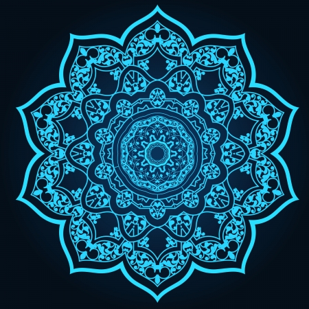 traditional Persian-Arabic-Turkish-Islamic Pattern  Vector