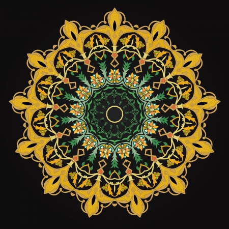 ashta:  traditional Persian-Arabic-Turkish-Islamic Pattern