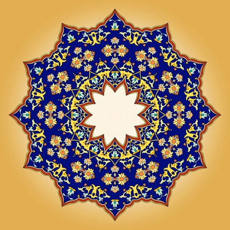 isfahan:  traditional Persian-Arabic-Turkish-Islamic Pattern