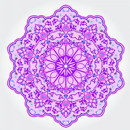traditional Persian-Arabic-Turkish-Islamic Pattern Stock Vector - 19135898