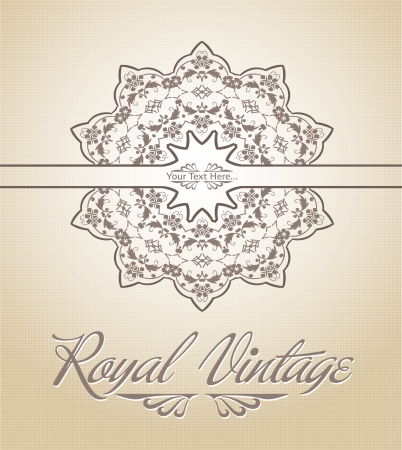 orient: Royal Card Illustration