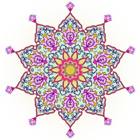 ペルシア: ペルシア語-アラビア語-トルコ ・ イスラムの伝統的な模様