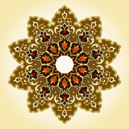 traditional Persian-Arabic-Turkish-Islamic Pattern Stock Vector - 19328903