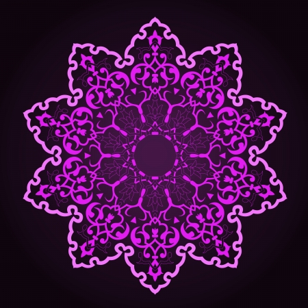 ashta: traditional Persian-Arabic-Turkish-Islamic Pattern  Illustration