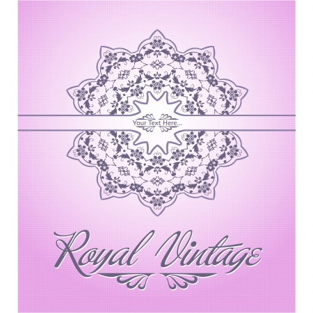 Royal Card Vector