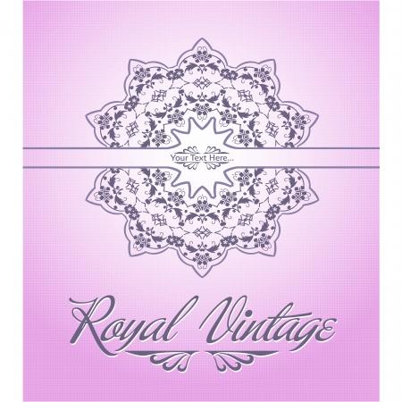 Royal Card Vector