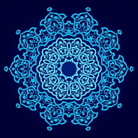 traditional Persian-Arabic-Turkish-Islamic Pattern Stock Vector - 19328895
