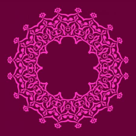 traditional Persian-Arabic-Turkish-Islamic Pattern  Illustration
