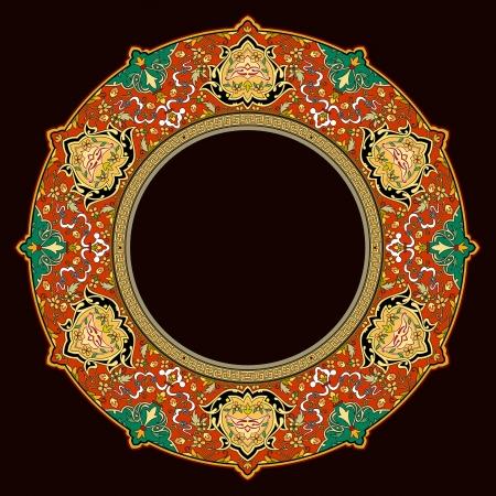 Vector of traditional Persian-Arabic-Turkish-Islamic Pattern  Vector