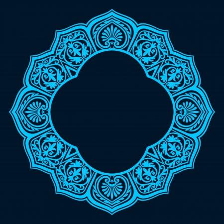 Vector van traditionele Perzisch-Arabisch-Turks-Islamitische patroon Vector Illustratie