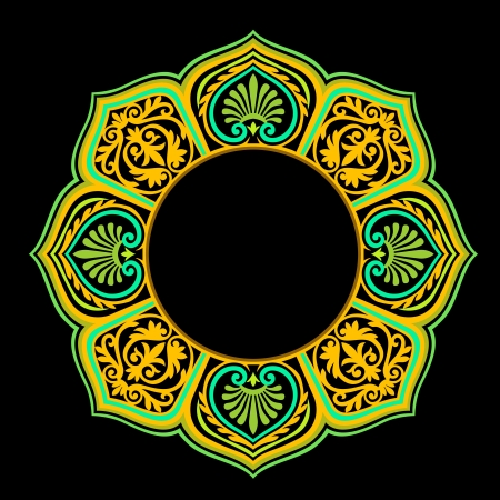 Vector of traditional Persian-Arabic-Turkish-Islamic Pattern Stock Vector - 19694636