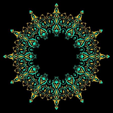Vector of traditional Persian-Arabic-Turkish-Islamic Pattern Stock Vector - 19694706
