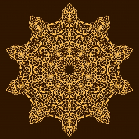 Vektor der traditionellen persischen-Arabic-Türkisch-Islamische Muster