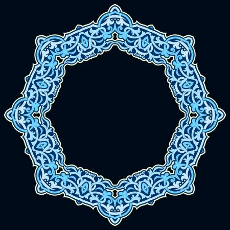 Vector of traditional Persian-Arabic-Turkish-Islamic Pattern Stock Vector - 19694693