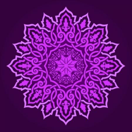 islamic pattern: Vector of traditional Persian-Arabic-Turkish-Islamic Pattern