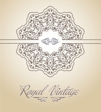 Royal Card Stock Vector - 19694740