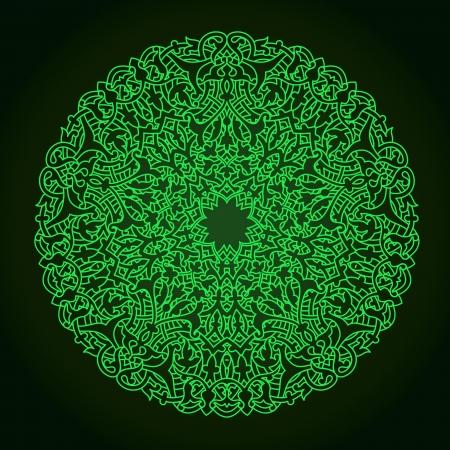 Vector of traditional Persian-Arabic-Turkish-Islamic Pattern Stock Vector - 19694697