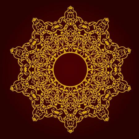 Vector of traditional Persian-Arabic-Turkish-Islamic Pattern Stock Vector - 19694681