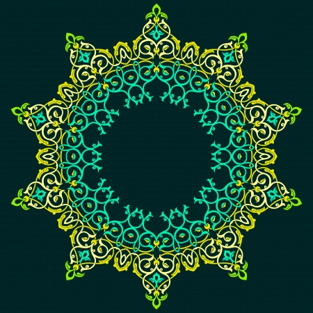 Vector of traditional Persian-Arabic-Turkish-Islamic Pattern Stock Vector - 19694724