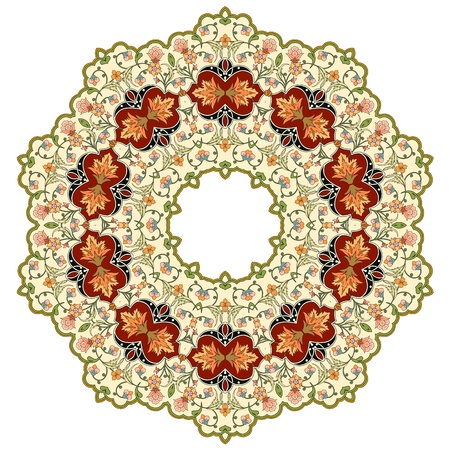 Vector of traditional Persian-Arabic-Turkish-Islamic Pattern Stock Vector - 19694736