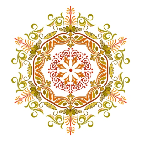Vector of traditional Persian-Arabic-Turkish-Islamic Pattern  Stock Vector - 19694726