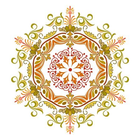 Vector of traditional Persian-Arabic-Turkish-Islamic Pattern Stock Vector - 19694726