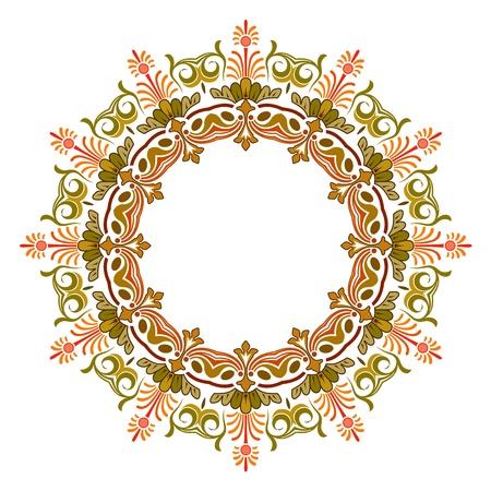 Vector of traditional Persian-Arabic-Turkish-Islamic Pattern Stock Vector - 19694727