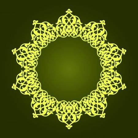 Traditional Persian-Islamic-Arabic-Turkish-Indian Pattern Stock Vector - 19866743