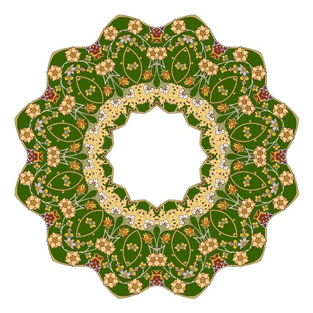 Traditional Persian-Islamic-Arabic-Turkish-Indian Pattern