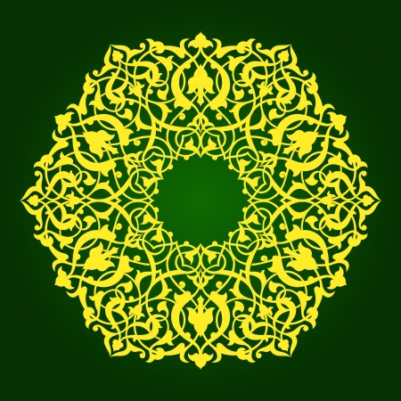 ashta: Traditional Persian-Islamic-Arabic-Turkish-Indian Pattern