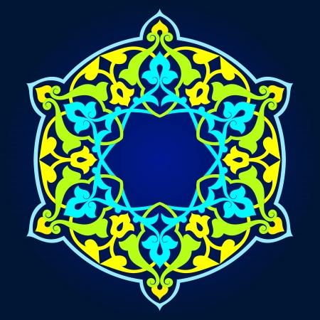 Traditional Persian-Islamic-Arabic-Turkish-Indian Pattern Stock Vector - 19866736