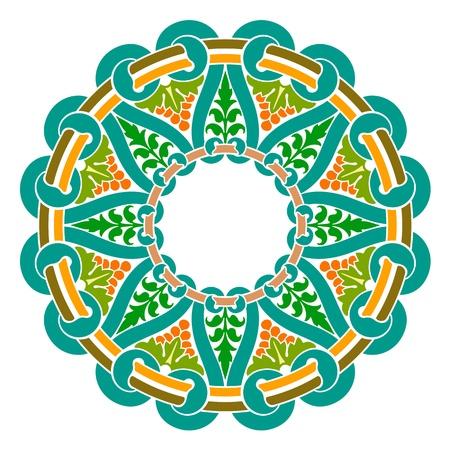 Traditional Persian-Islamic-Arabic-Turkish-Indian Pattern Stock Vector - 19866739