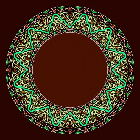 Traditional Persian-Islamic-Arabic-Turkish-Indian Pattern Stock Vector - 19866750