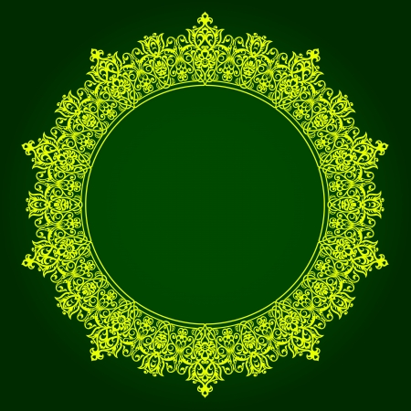 Traditional Persian-Islamic-Arabic-Turkish-Indian Pattern  Vector