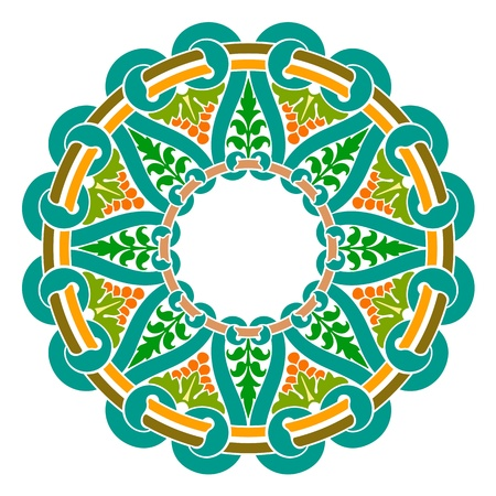 Traditional Persian-Islamic-Arabic-Turkish-Indian Pattern Stock Vector - 19866738