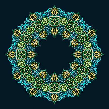 Traditional Persian-Islamic-Arabic-Turkish-Indian Pattern Stock Vector - 19866746