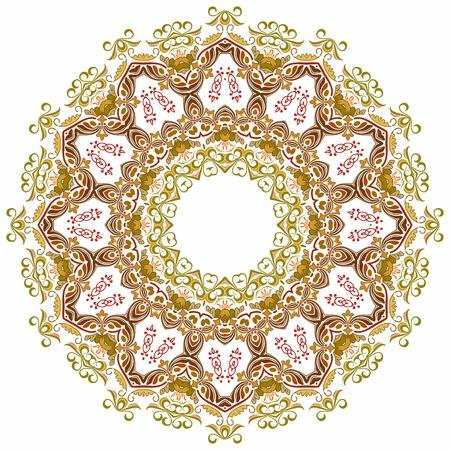 円形パターン